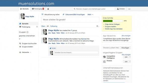 Yammer gilt als Pionier der Social-Enterprise-Tools. 2012 hat Microsoft das Tool übernommen.