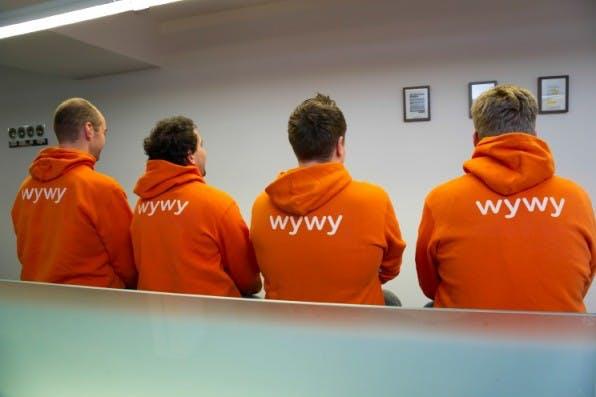 Ob gemeinsame Mittagessen oder Corporate Hoodies: Teamgeist wird bei wywy groß geschrieben.