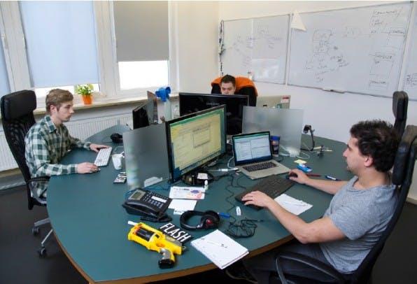 Im neuen Office nahe der Theresienwiese haben die Mitarbeiter wieder deutlich mehr Raum – nicht zuletzt für Kreativität.