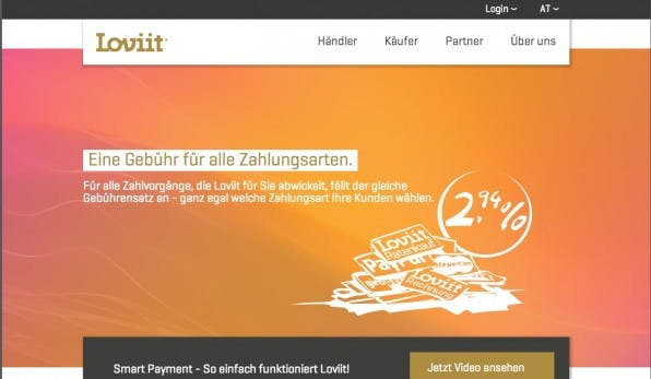 Transparent: Loviit rechnet alles zum festen Prozentsatz ab. (Quelle: loviit.com)