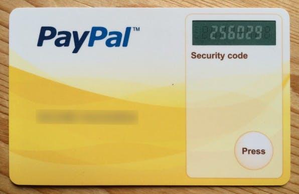 Durch eine Zwei-Faktor-Authentifizierung können sich PayPal-Kunden zusätzlich absichern.