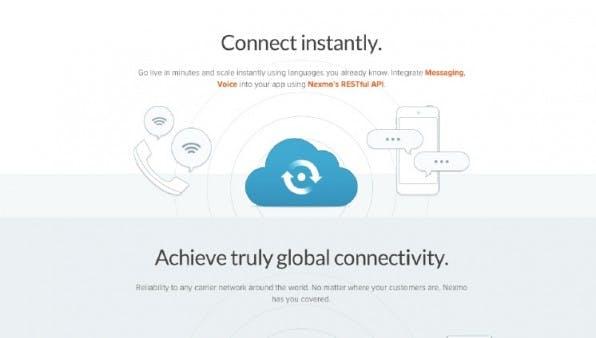 Auch wer SMS und Telefonie in seine APP integrieren will, findet entsprechende APIs wie beispielsweise den Dienst von Nexmo.