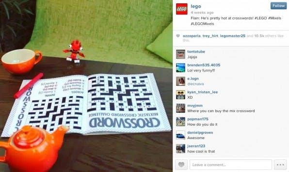 Lego schafft es mit seinen sehenswerten Kurzfilmen auf Instagram, den Charakter seiner Figuren zu transportieren.