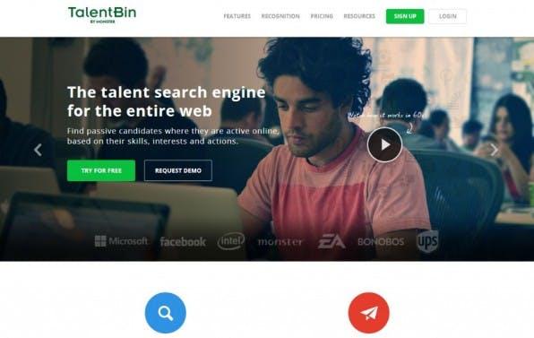TalentBin findet passende Kandidaten in den sozialen Netzwerken – selbst wenn diese sich derzeit gar nicht aktiv bewerben.