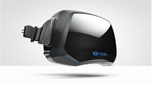 Mit dem Zukauf von Oculus, dem Unternehmen hinter der Augmented-Reality-Brille Oculus Rift, zeigt Facebook, wie zukunftsgewandt das Unternehmen denkt. Wird vielleicht bald eine virtuelle Begehung der Facebook-Timeline möglich sein? (Bild: OculusVR)