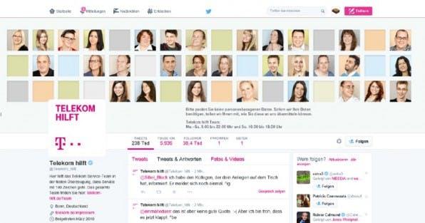 Auch wenn der Ruf der Telekom eher dürftig ist – immerhin betreibt der Konzern mit @Telekom_hilft schon seit längerem einen Twitter-Account, über den Kunden mit dem Service-Team in Kontakt treten können. (Screenshot: twitter.com/Telekom_hilft)