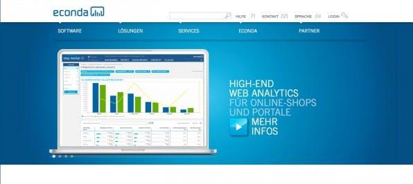 Der Econda Shop Monitor zeichnet das Knickverhalten der Website-Besucher live auf. Auf dieser Basis werden in Echtzeit passende Empfehlungen ausgespielt.