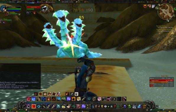 Ein klares Ziel und kontinuierliches Feedback sind Flow-induzierende Faktoren, die häufig in Computerspielen wie World of Warcraft zum Einsatz kommen. Auch bei der Arbeit kann man sie sich zunutze machen. (Screenshot: Rob Wynne / flickr, Lizenz CC BY-SA 2.0)