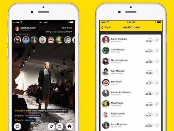 Die Livestreaming-App Meerkat funktioniert denkbar einfach: Installieren, starten, Stream beschreiben, streamen, twittern.