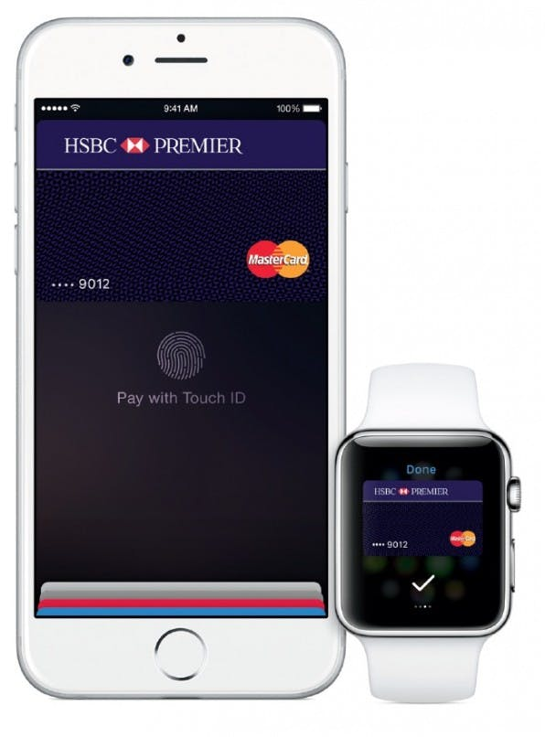 Bislang nur in den USA und Großbritannien verfügbar: Apple Pay ermöglicht mobiles Bezahlen via iPhone 6, iPhone 6 Plus und Apple Watch. (Screenshot: apple.com)