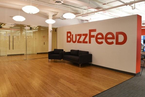 Leere Hütte? Egal. BuzzFeed ist es nicht wichtig, Leser-Traffic auf die eigene Web-Präsenz zu lenken. Vielmehr gehe es darum, dass die Inhalte die Leute erreichten – egal, wo.