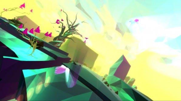 """Die VR-Experience """"Lucid Trips"""" macht mit völlig neuen Spiel – und Bewegungsmechaniken auf sich aufmerksam."""
