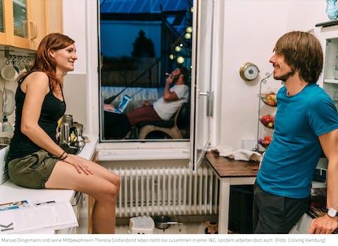 Coliving – Zusammen arbeiten und leben: Alles unter einem Dach