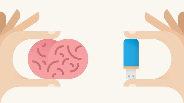 Mein externes Gehirn: Warum selber denken, wenn man auslagern kann?