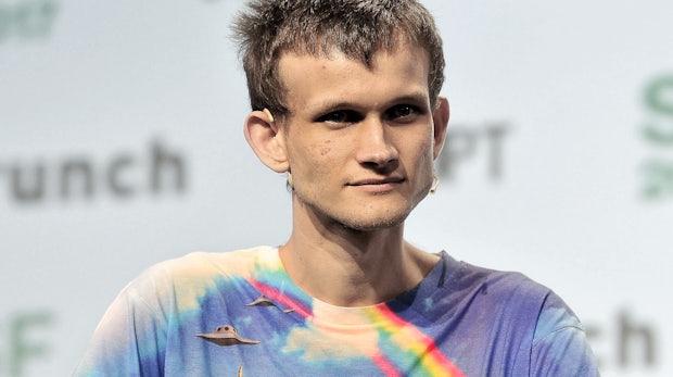 Ethereum-Gründer Vitalik Buterin: Philosoph im Regenbogen-Shirt