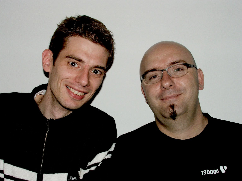 Alexander Ebner und Patrick Lobacher