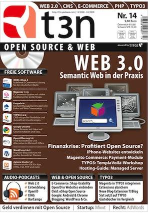 t3n Nr. 14: Web 3.0 - Semantic Web in der Praxis