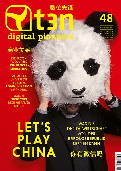 t3n Ausgabe Nr. 48 - Let's Play China!