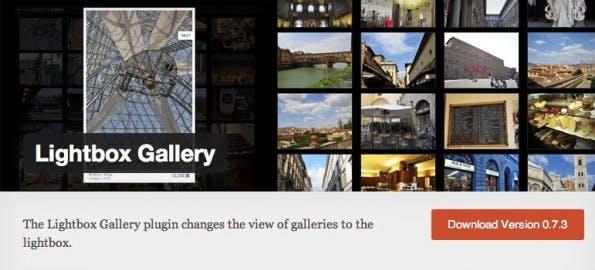 Lightbox Gallery zeigt Bilder in einer Lightbox über der eigentlichen Seite an.