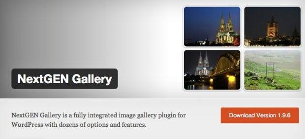 NextGen Gallery ist ein vielfältiges WordPress-Plugin.