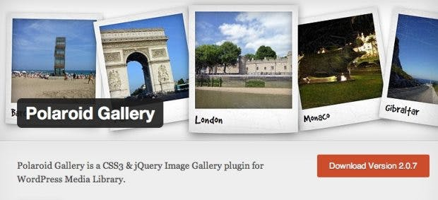 Mit Polaroid Gallery erhält dein WordPress-Blog einen angenehmen Retro-Touch