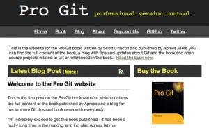 Pro-Git: Kostenfreies E-Book zum Thema Versionskontrolle mit Git