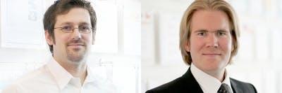 Patrick Schulte und Sebastian Busch