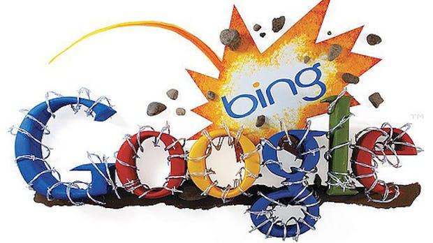 Google vs. Bing – Vorwurf: Bing kupfert ab