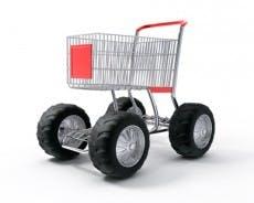 turbo speed shopping cart