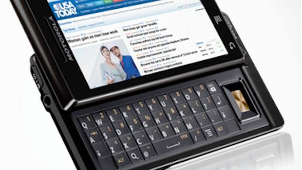 Auch renommierte Hersteller wie Motorola setzen auf Android.