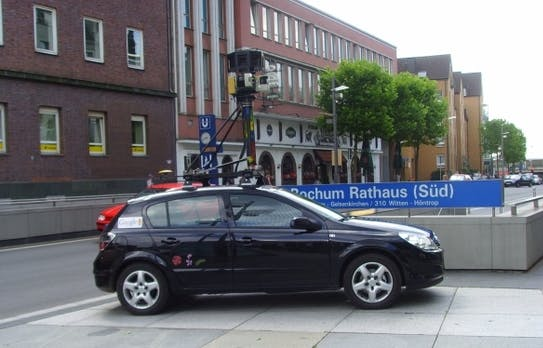 Datenschutz: Googles Street-View-Fahrzeuge scannen WLANs, Löschung aller Daten gefordert