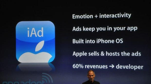 Apple iAd: Mobile Werbeplattform kommt nach Europa