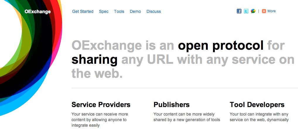 """OExchange"": Offenes Link-Sharing-Protokoll als Konkurrenz für Facebooks Like-Button"