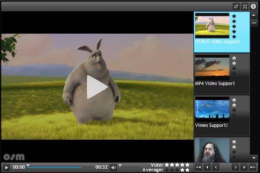 Webentwicklung: HTML5-Videoplayer mit Flash-Fallback