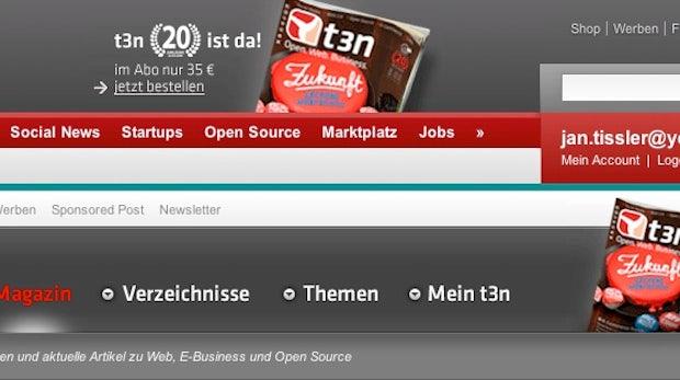 Intern: Neue Navigation für t3n.de, Facebook-Kommentare integriert