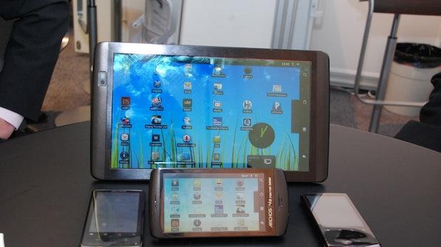 t3n Tablet Tour: Archos Tablets – Fünf auf einen Streich