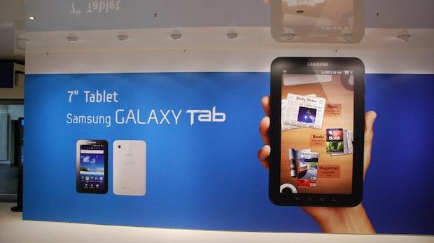 t3n Tablet Tour: Samsung Galaxy Tab – Die edle iPad-Alternative