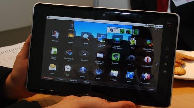 t3n Tablet Tour: Toshiba Folio 100 – Das Tablet, das ein Netbook war