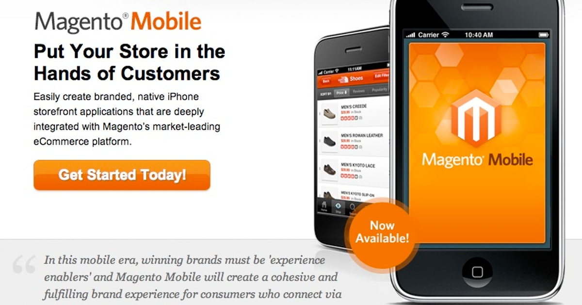 E-Commerce: Magento Mobile – Mobile Shopping Apps leicht gemacht ...
