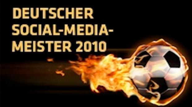 Social-Media Bundesligasaison 2010/2011: Wer wird Deutscher Meister auf Twitter und Facebook?