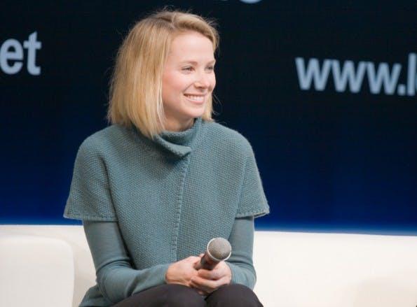 Yahoo-CEO Marissa Mayer ist in Verhandlungen mit Tumblr.