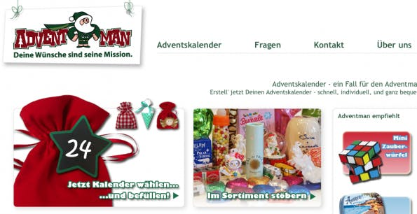 Adventman Online-Shop