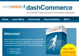 Open Source Shopsystem: dashCommerce
