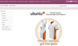 Open Source Shopsystem: osCommerce - Ubuntu Merchandise Store
