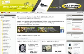 Open Source Shopsysteme: Oxid eShop - BIKE.Sport World