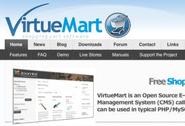 Open Source Shopsystem: VirtueMart