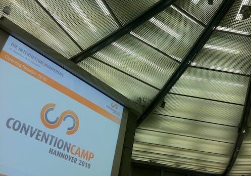 ConventionCamp 2010: von Denkern und Machern