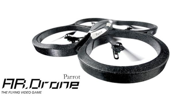 AR.Drone: Ministerin Aigner warnt vor fliegenden Augen