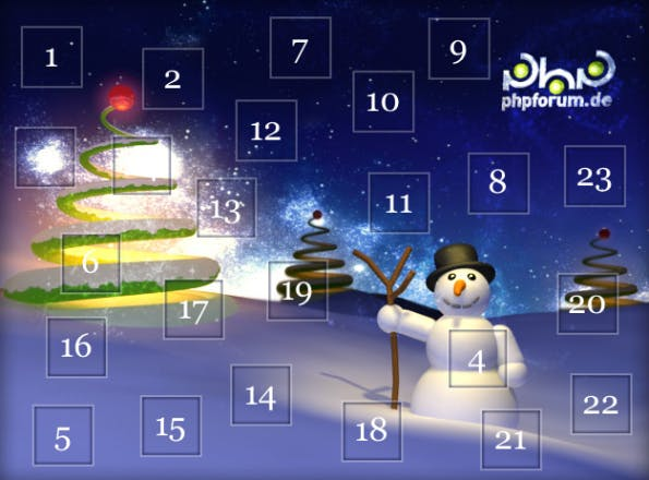 Adventskalender PHP-Forum
