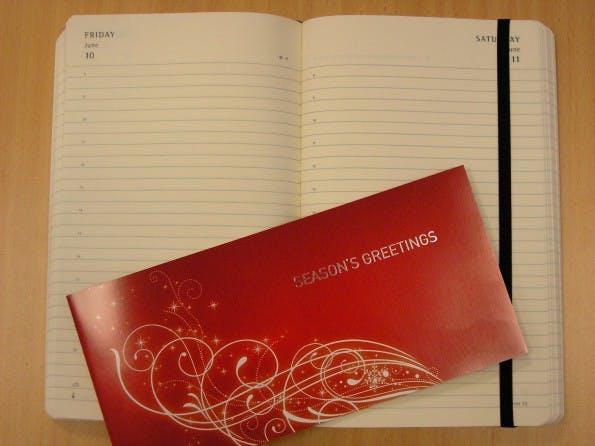 Weihnachtskarte 2010: wirecard